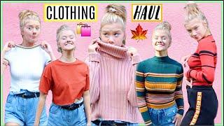 HUGE FALL/SCHOOL CLOTHING HAUL! 2018 Forever 21, Target, Ariana Grande x Reebok