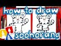 How To Draw Soohorang the Pyeongchang Winter Olympic's Mascot