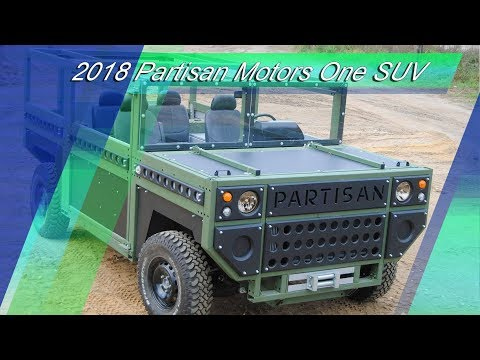 2018 Partisan One Military SUV - A Real Alternative To The Hummer