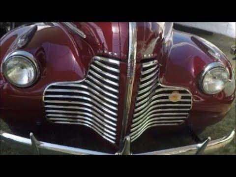 1940 Buick Super Estate Wagon Maroon Ameliaisland0309184405 Youtube