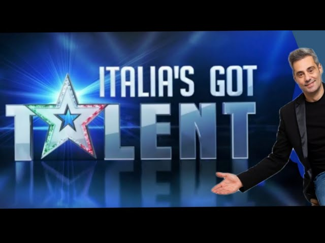 Massimo Contati a italia's got talent  in