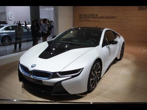 BMW i8 supercar - Frankfurt motor show