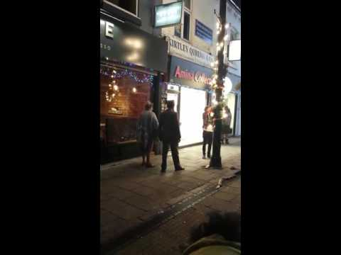 Adil Ray Gets Egged While Filming Citizen Khan on Ladypool Rd Birmingham