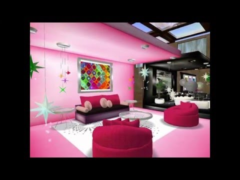 Pink Room Ideas | Pink Living Room Ideas | Pink And Purple Room ...