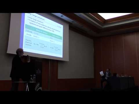 Dual Plenary Session: New Energy Technologies and Their Status (Part 1/2)