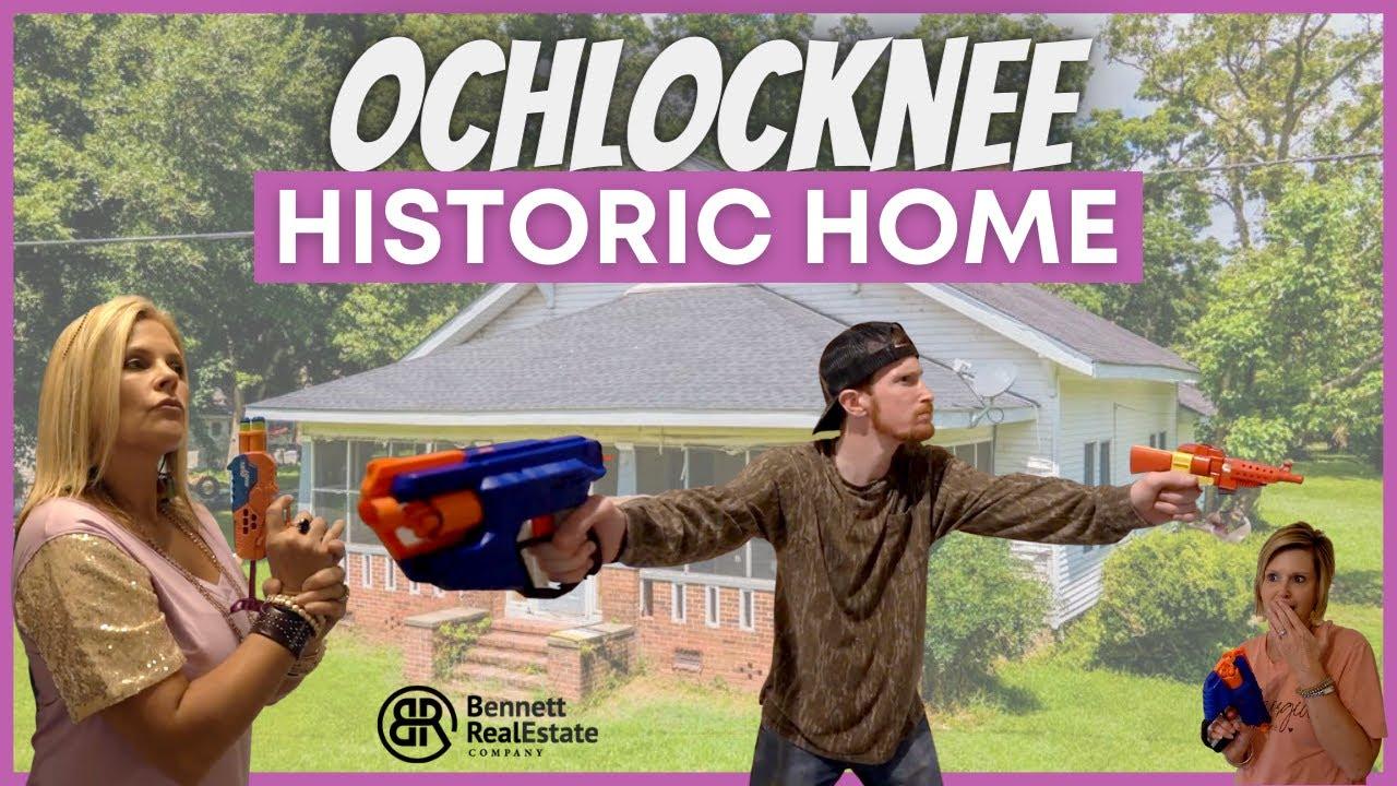 Spacious Historic Home in Humble Ochlocknee - 2019 Stephens St