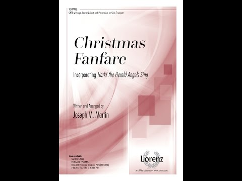 Christmas Fanfare (SATB) - Joseph M. Martin