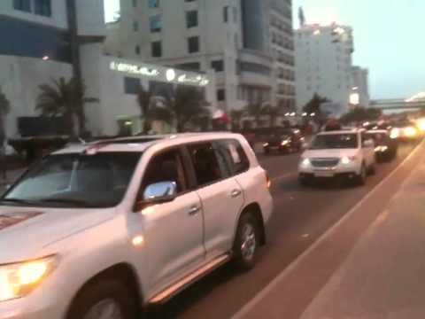 Bahrain Pro Government Rally Part 1