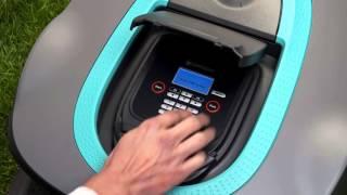 GARDENA robotplæneklipper SILENO / SILENO+ Hvordan  (Kap. 11: Sikkerhed og tyverisikring)