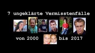 [DUNKLE SPUREN] 7 ungeklärte Vermisstenfälle der 2000er | TheBlueSiren