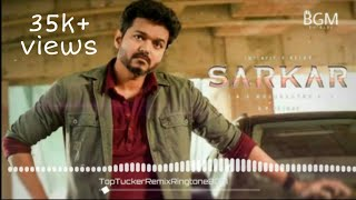 Sarkar - Top Tucker Remix || Ringtone (Deepavali Special) || BGM (Free download link)