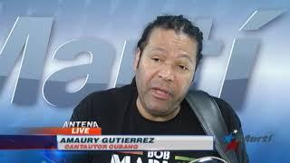"""Amaury Gutiérrez: """"Para uno ser artista tiene que haber sufrido"""""""