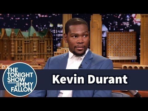 Thumbnail: Kevin Durant Plays NBA 2K15 as LeBron James