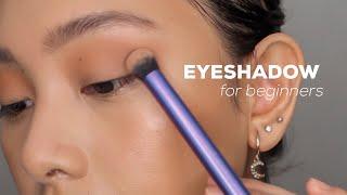 Eyeshadow Tutorial For Begiฑners (Easy & Affordable)