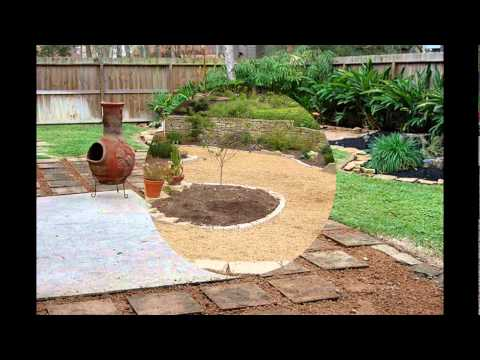 crushed granite patio
