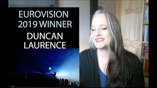 Voice Teacher Reaction to Eurovision  2019 Winner -  Duncan Laurence, Netherlands