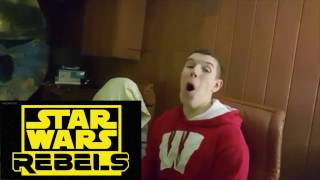 Star Wars Rebels - 3x05 The Last Battle - REACTION!!!!