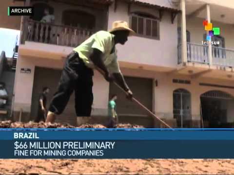 Brazil: $66 Million Preliminary Fine For Mining Companies