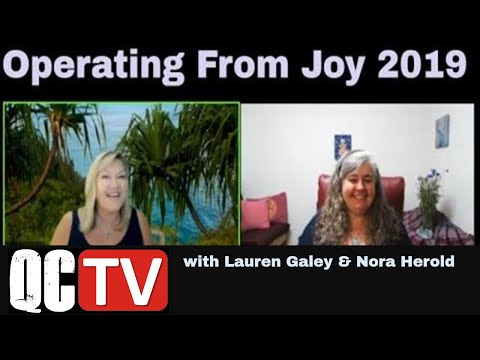 Operate From Joy 2019 - A Pleiadian Perspective With Nora Herold