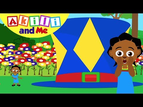 Big and Small Song | Sing with Akili and Me | Cartoons for Preschoolers