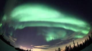 Полярное сияние (Aurora Borealis) 2011 (2)(Полярные сияния (Aurora Borealis). Снято 1 марта 2011 года. Мурманская область, г.Апатиты-Кировск. Автор - Валентин..., 2011-03-03T20:03:36.000Z)