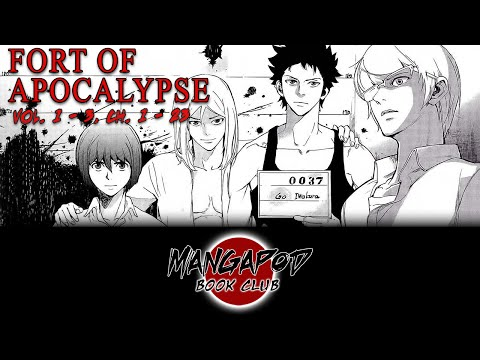 MangaPod Book Club #107: Fort of Apocalypse (Chapters 1- 23) with Cry!