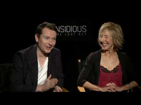 Lin Shaye & Leigh Whannell Interview for Insidious: The Last Key