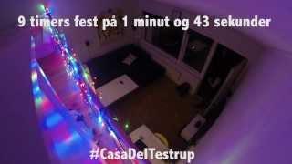 Timelapse: 9 timers fest på under 2 minutter