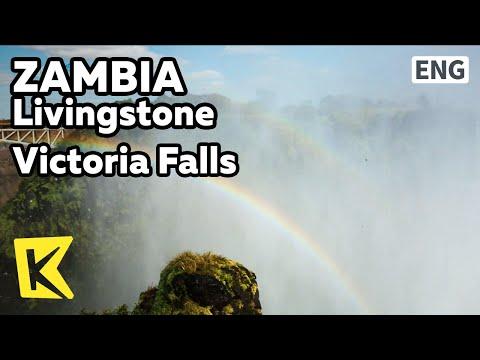 【K】Zambia Travel-Livingstone[잠비아 여행-리빙스턴]잠비아 빅토리아 폭포/Victoria Falls/Mosi oa Tunya/UNESCO