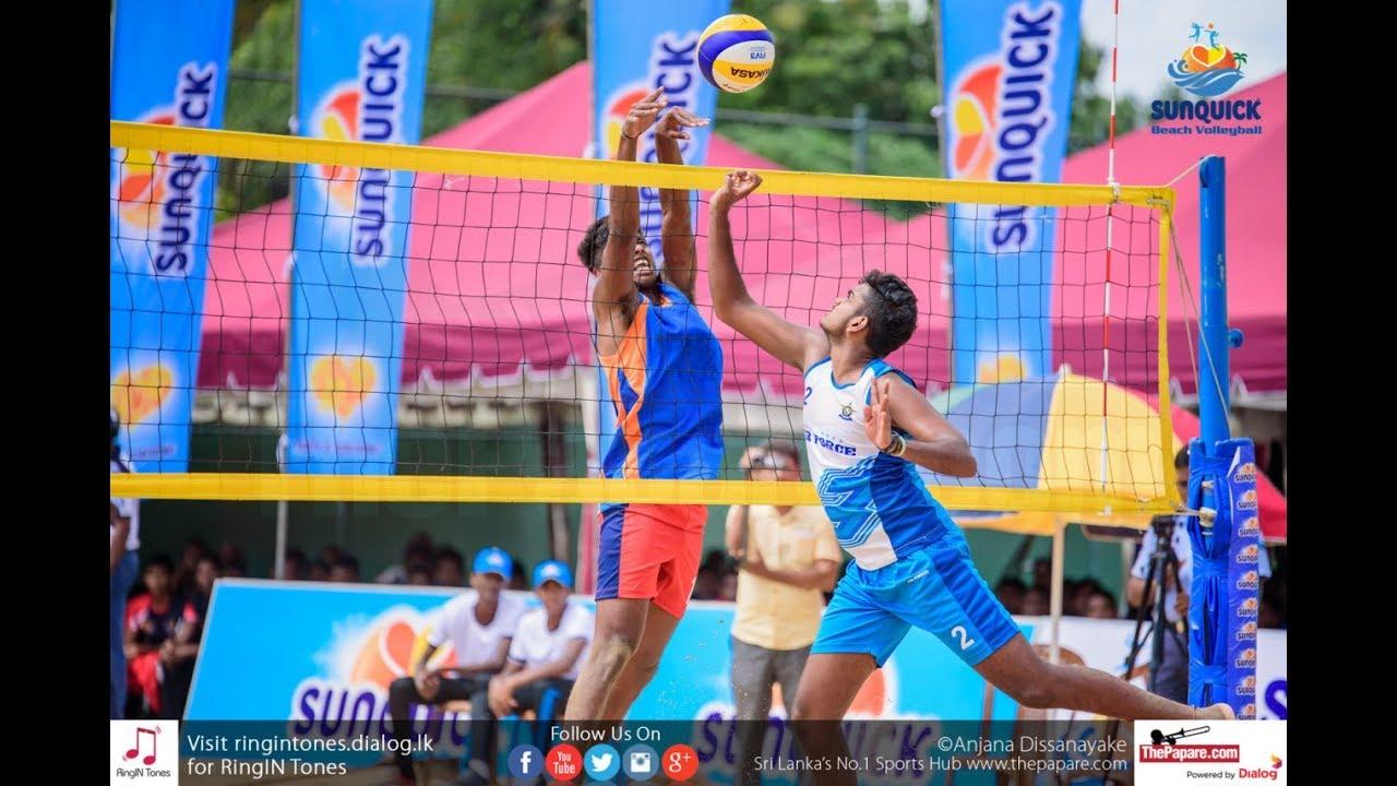 Beach Volleyball The Future In Sri Lanka Youtube