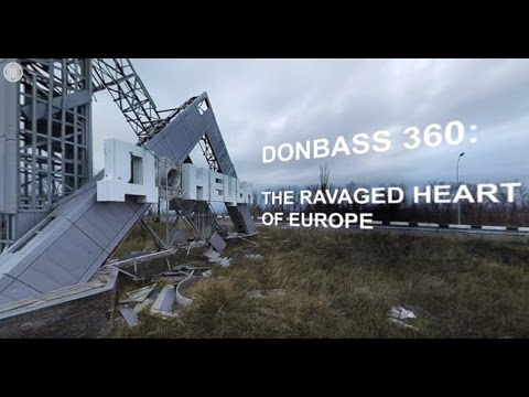 Donbass 360 drone video: Donetsk airport ruins and testimony
