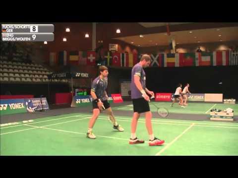 Dutch Open 2015 * R16 * MD * Michael Fuchs/Johannes Schoettler vs Peter Briggs/Tom Wolfend