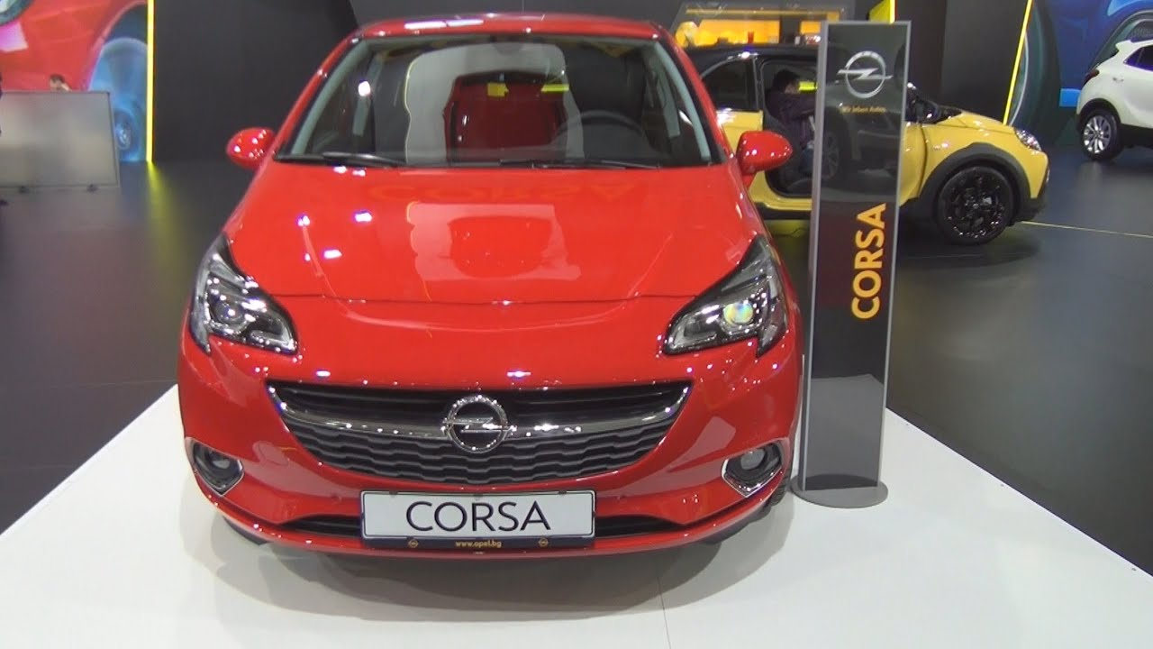 Opel corsa e cosmo 1 4 xel 5 doors 2016 exterior and for Opel corsa e interieur