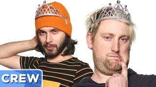 Guy's Beauty Pageant Training Disaster | Good Mythical Crew Ep. 42