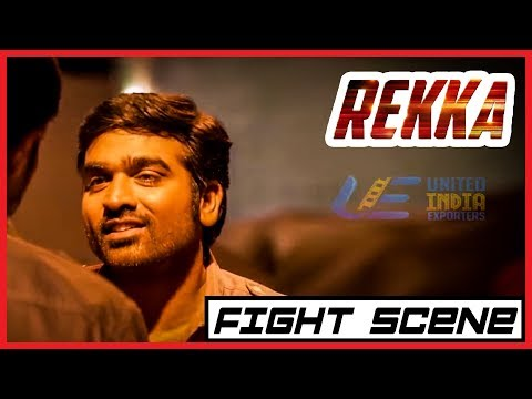 Rekka - Tamil Movie - Fight scene | Vijay Sethupathi | Lakshmi Menon | D Imman