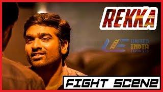 Rekka - Tamil Movie - Fight scene | Vijay Sethupathi | Lakshmi Menon | D Imman