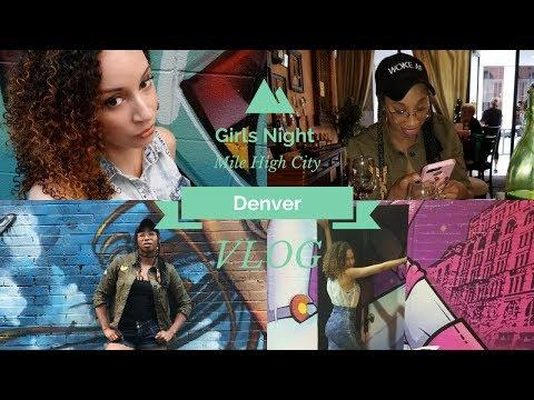 Vlog 1!!! Girls Night, Wine, and Art!!!! Denver