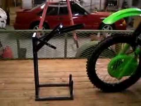 Kdx Crf Kx Rm Ktm Bike Buddy Motorcycle Wheel Chock Youtube
