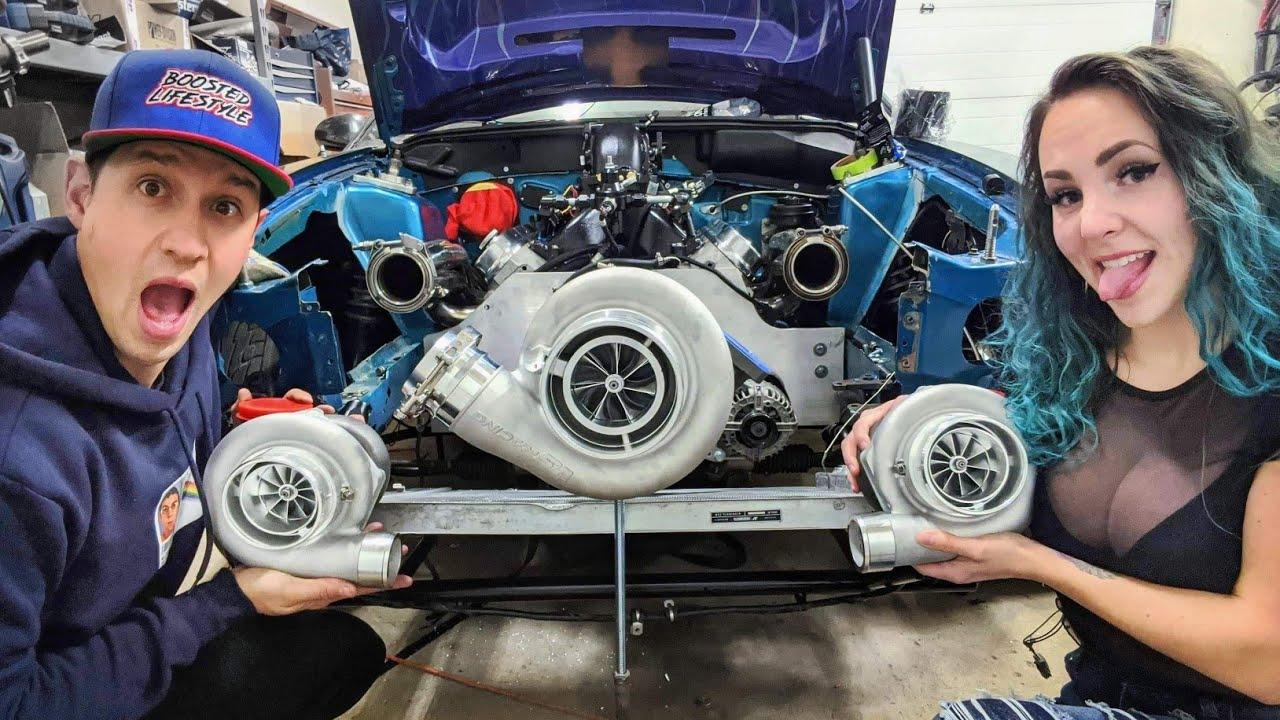 Triple Turbo LS Mustang!