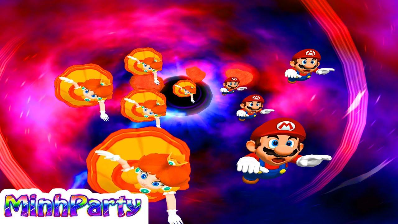 Mario Party 6 Minigames Collection Daisy Vs Mario Vs Peach Vs Luigi Gameplay