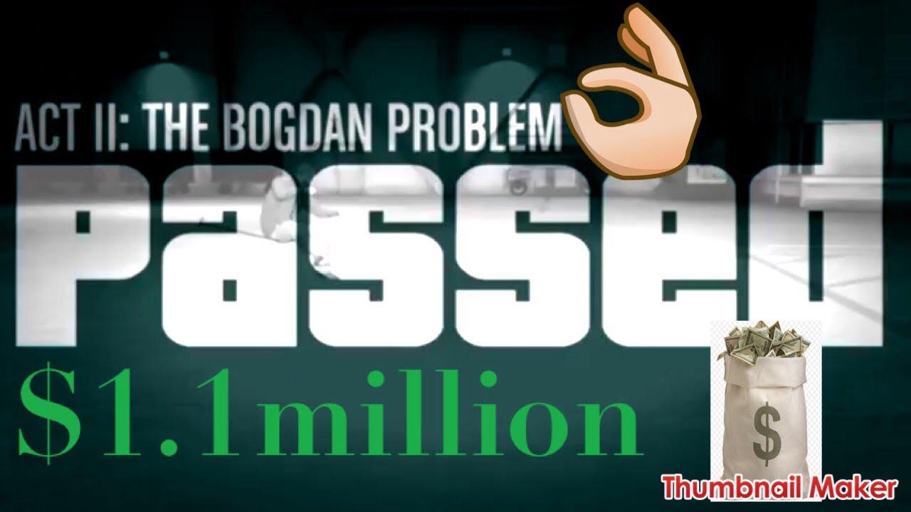 Doomsday Heist#2 The Bogdan Problem(Funny glitch at end) GTA 5