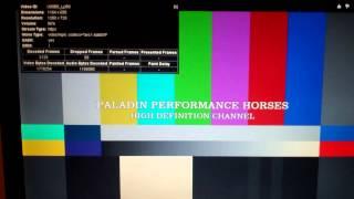 FlipHD HD Test Pattern and 1000 hz tone