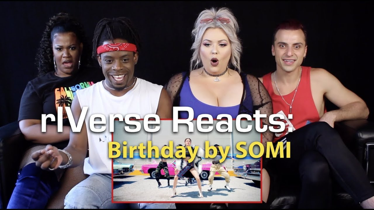 rIVerse Reacts: Birthday by Somi - M/V Reaction