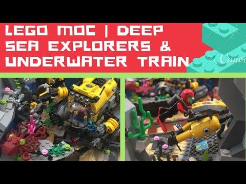 Repeat LEGO MOC   Deep Sea Explorers and Underwater Train