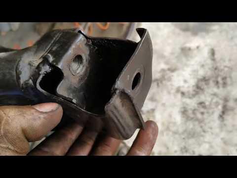 ремонт передней балки (подрамника) CHEVROLET AVEO 1.5-1.6
