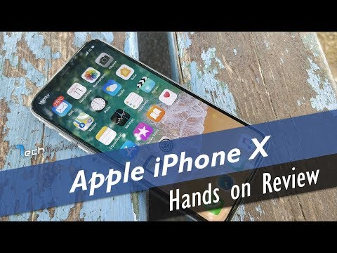 Apple iPhone X Hands on Review Greek