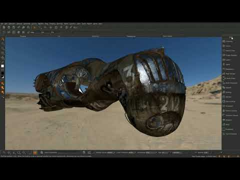 SIGGRAPH 2017 | Digital 3D Painting And Texturing In Mari
