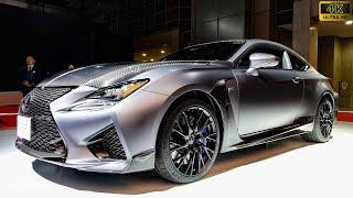 (4K)LEXUS RC F 2018 レクサスRCF - 東京モーターショー2017
