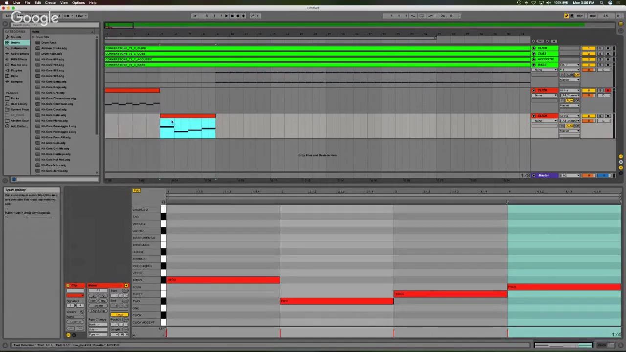 Creating Tracks in Ableton Live - Session 3 (Electric Guitar)