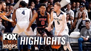 Butler vs Utah | Highlights | FOX COLLEGE HOOPS